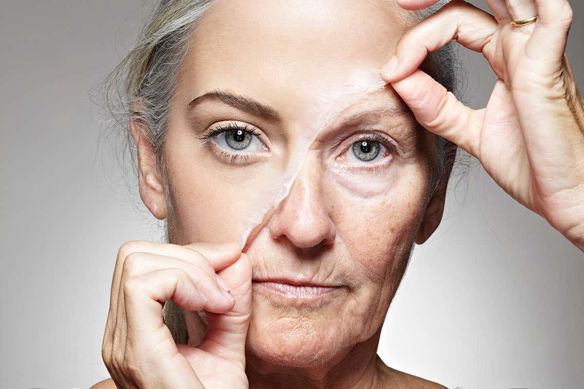 علاج تجاعيد الوجه طبيعيا