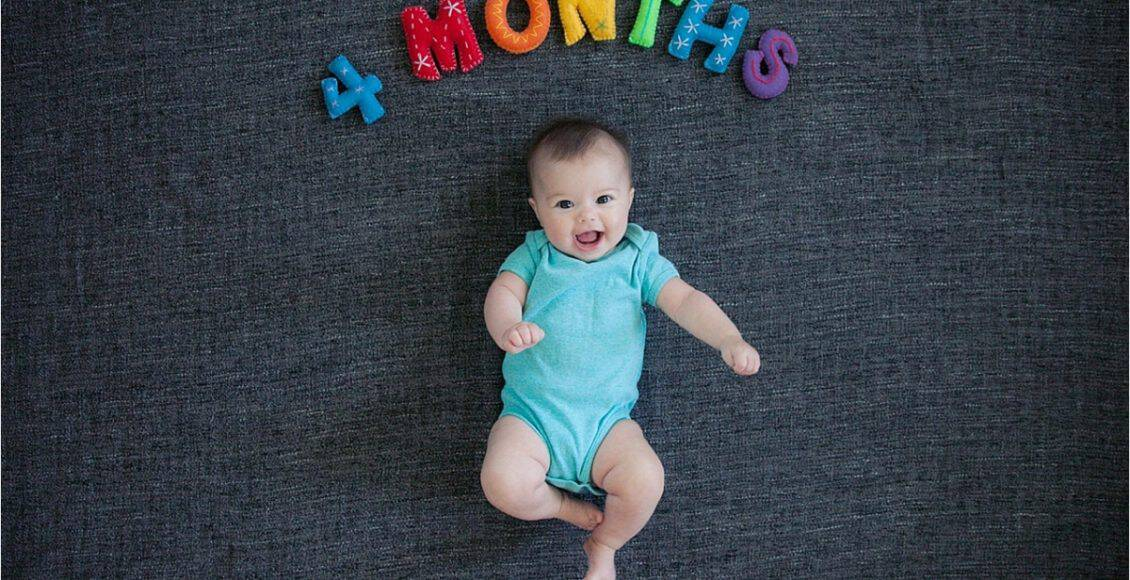 مراحل نمو الطفل في الشهر الرابع وأهم التغييرات