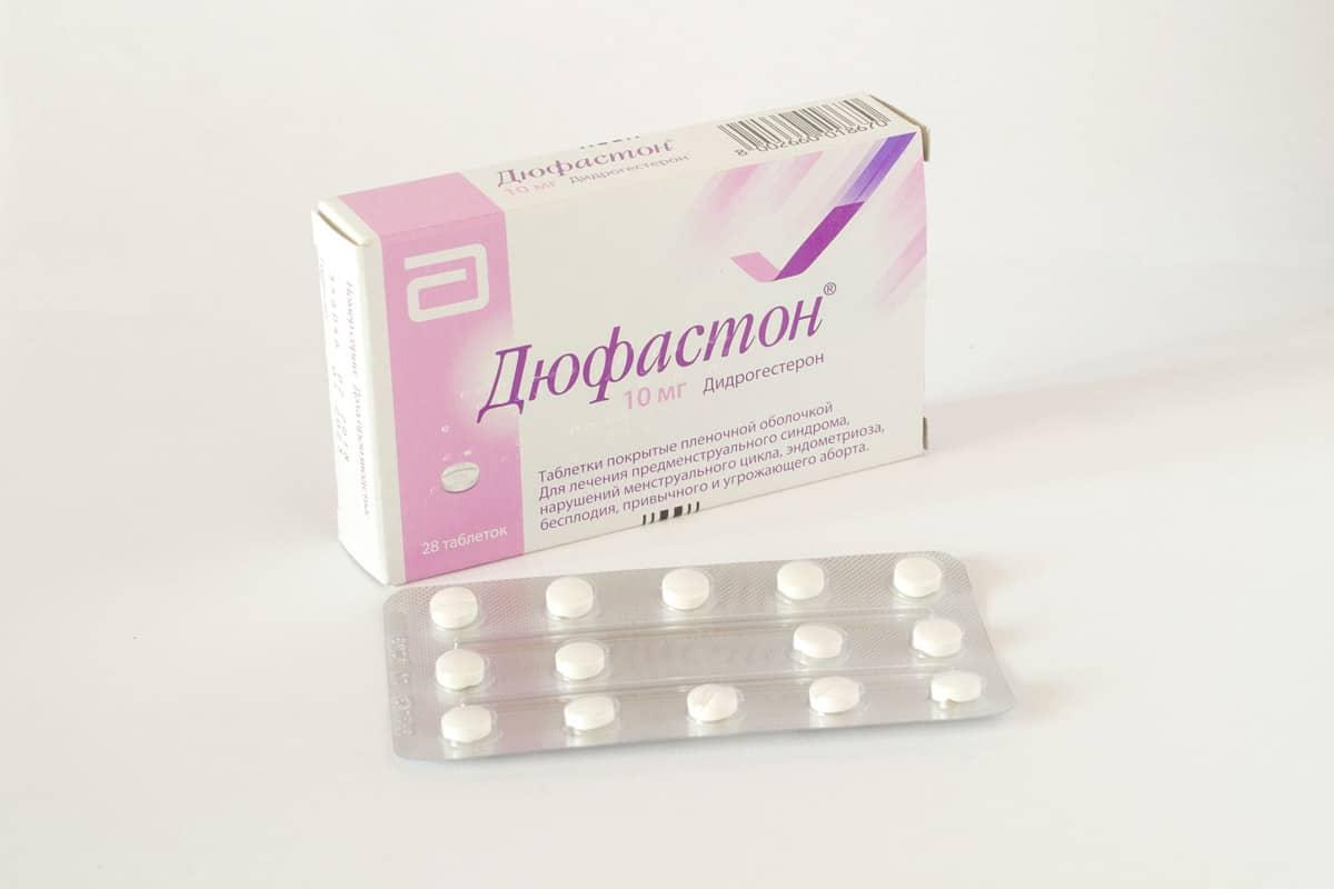 مثبت الحمل دوفاستون