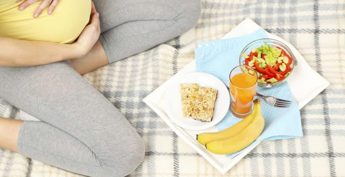 نظام غذائي للحامل