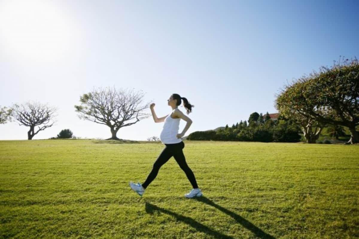 المشي في الاسبوع 36 من الحمل