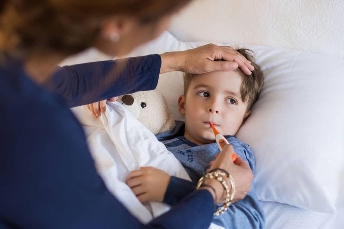 علاج النزلة المعوية للاطفال