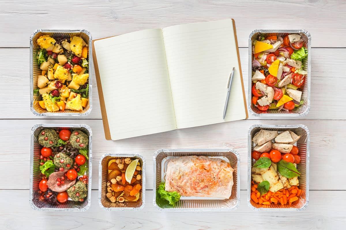 جدول خطة وجباتك الأسبوعية قابل للطباعة