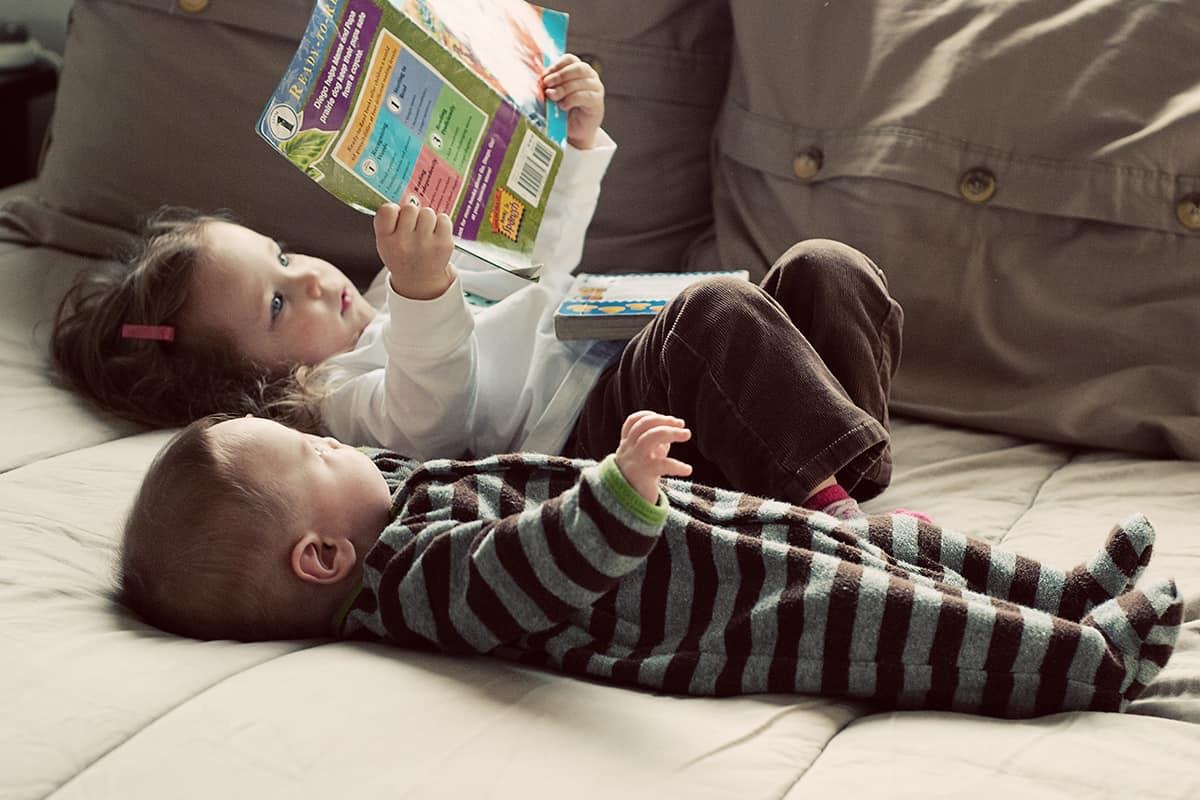 أهمية قراءة قصص قبل النوم لطفلك