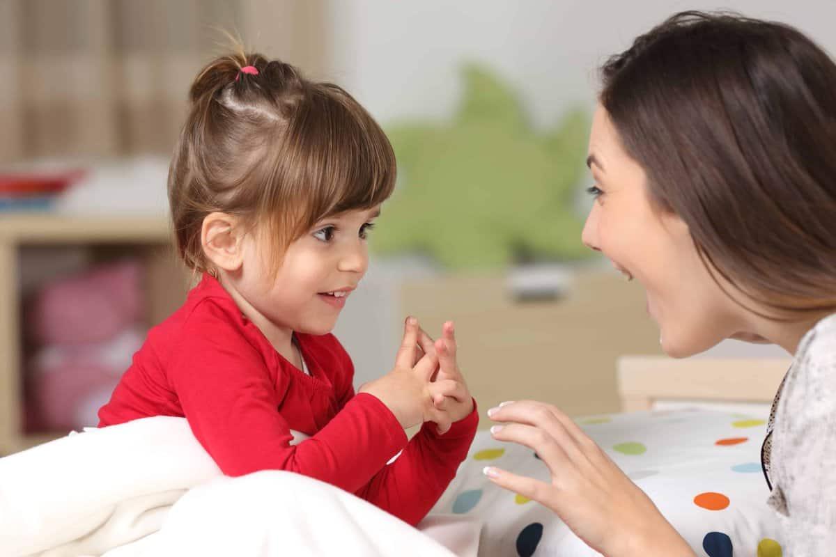 لغة الاشارة للاطفال الرضع