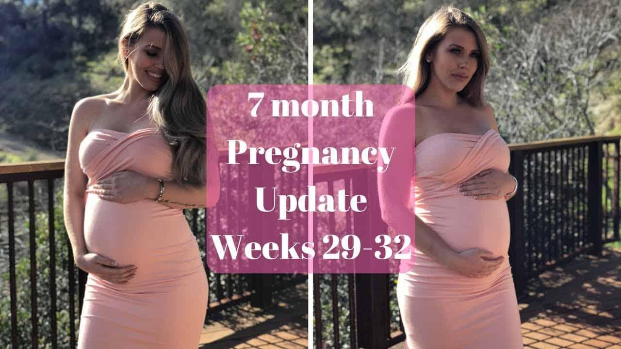 الحامل في الشهر السابع