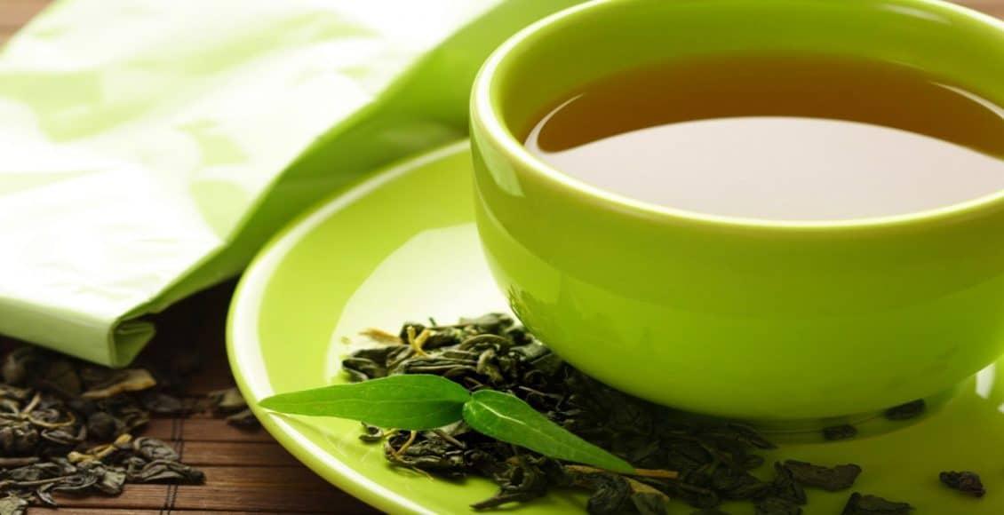 الشاي الأخضر للحامل
