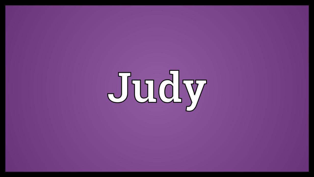 معنى اسم جودي