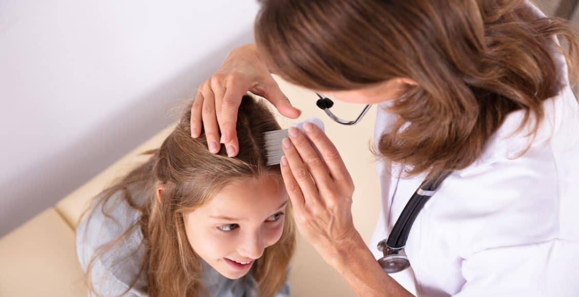 علاج خشونة الشعر للاطفال