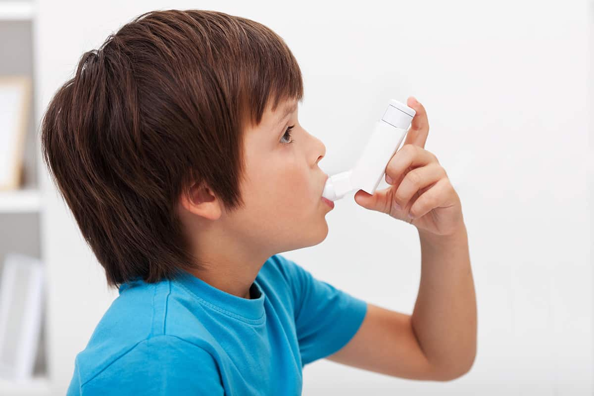 اعراض الربو عند الاطفال