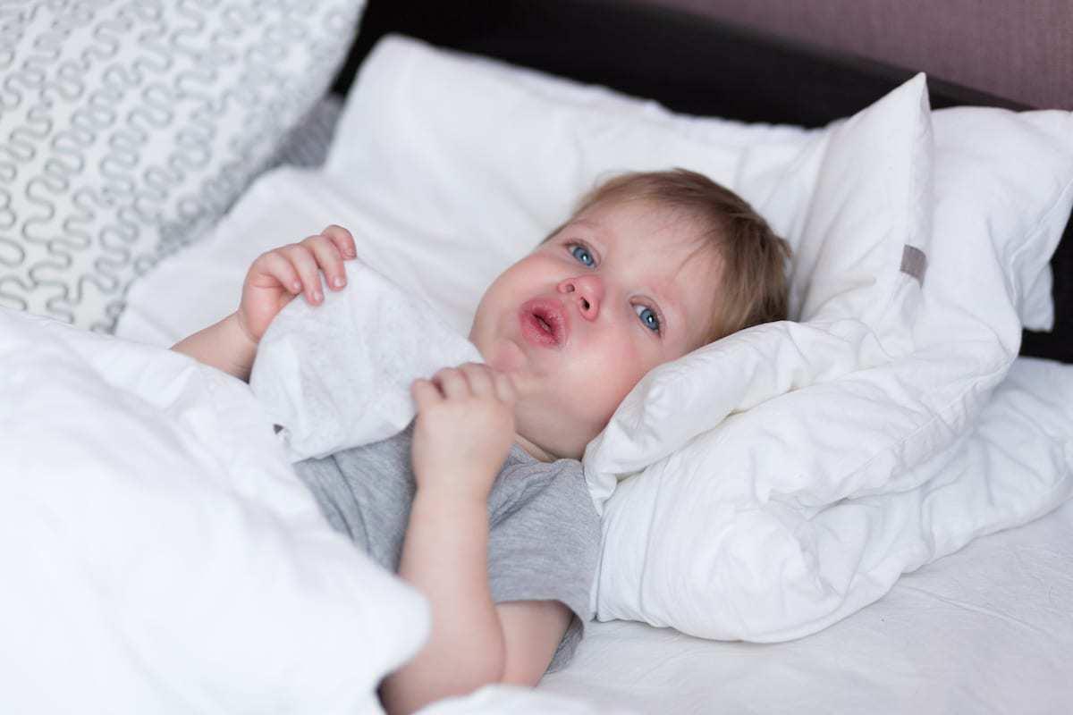 الزكام عند الاطفال
