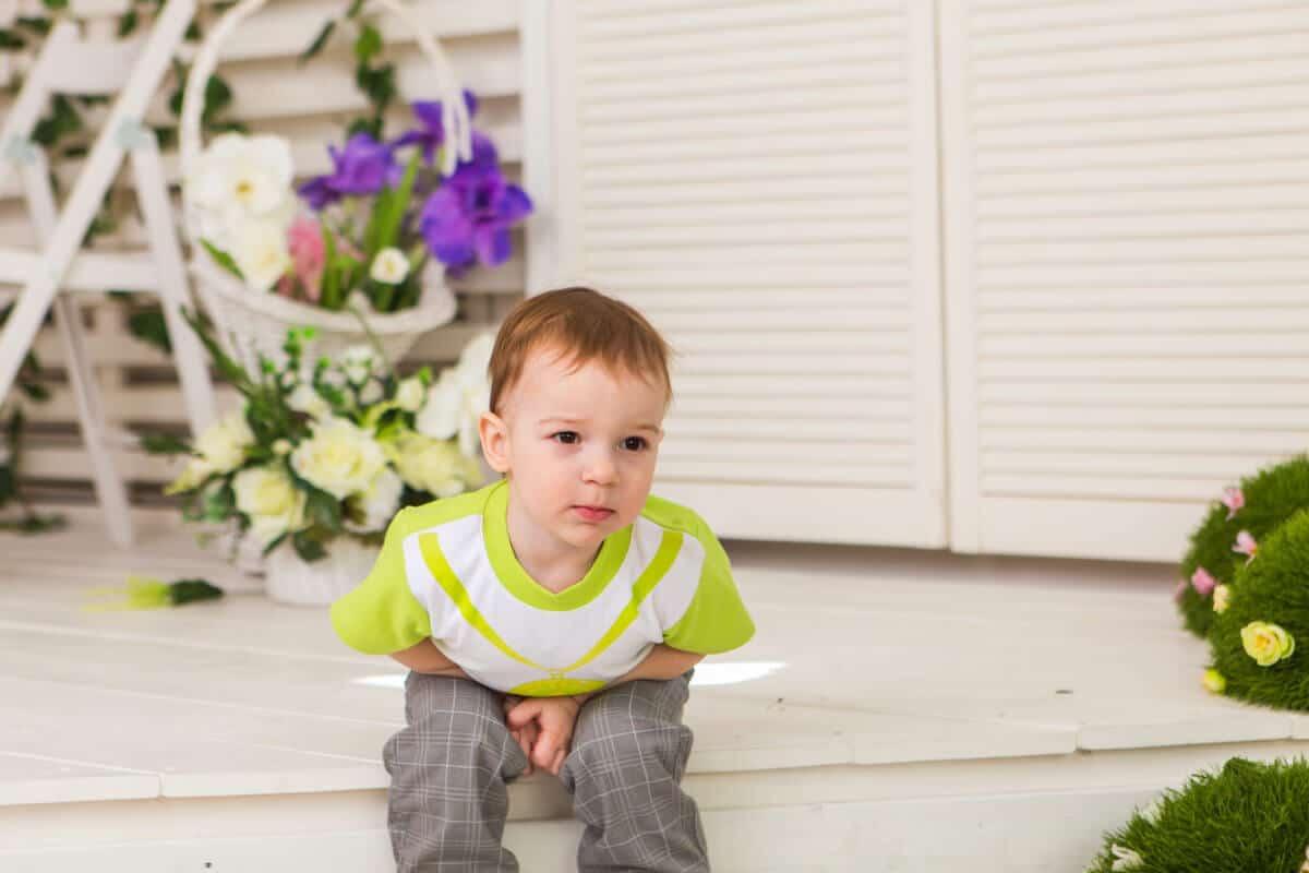 انتفاخ البطن عند الاطفال