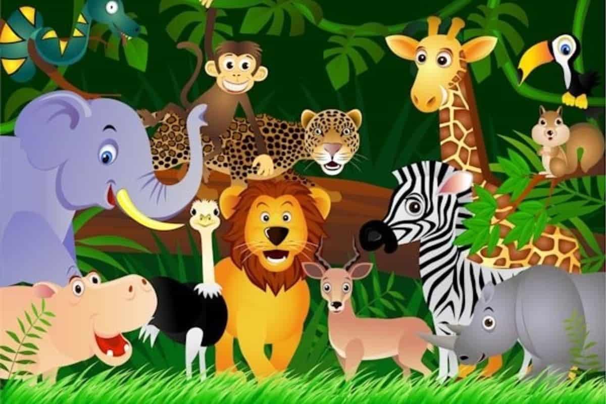 تعليم الاطفال الحيوانات