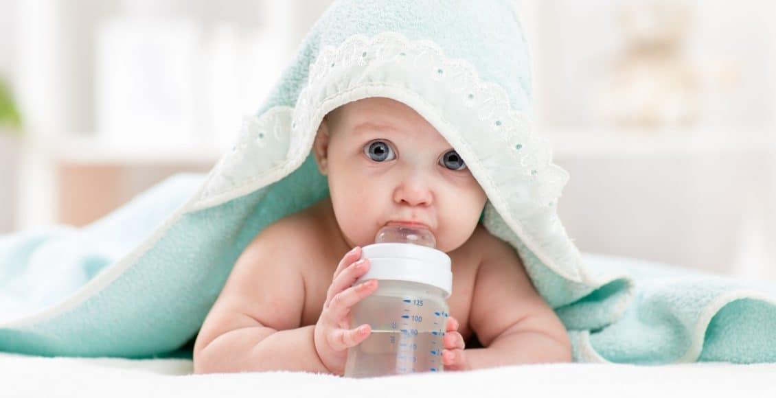 حجم معدة الرضيع