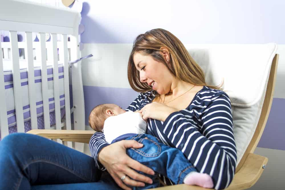 تقرح الحلمة اثناء الرضاعة