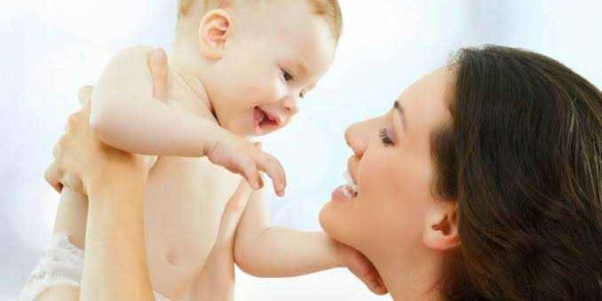 أسباب تمغط الرضيع