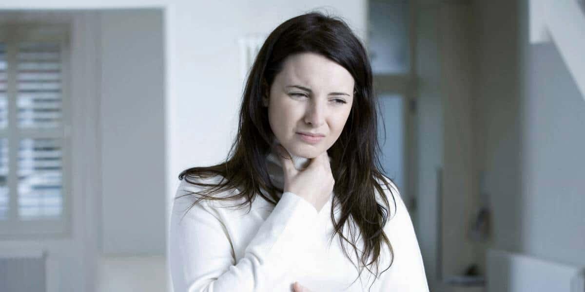 أسباب جفاف الحلق عند الحامل