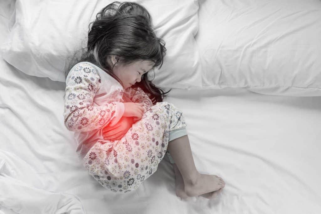 أسباب النزلة المعوية عند الأطفال