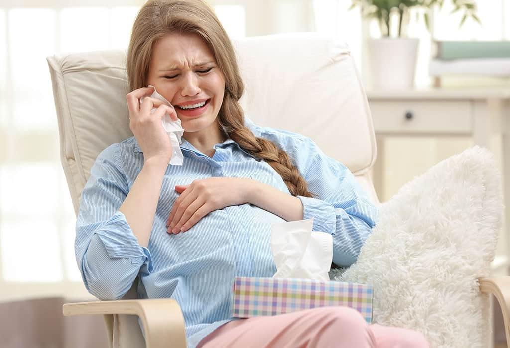 هل الحزن يسبب الإجهاض
