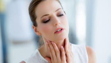 علاج التهاب الحلق للحامل