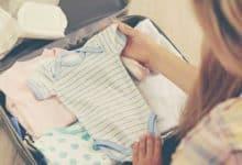 أغراض البيبي حديث الولادة للمستشفى