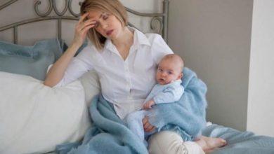 ألم في الجانب الأيسر من البطن بعد الولادة القيصرية