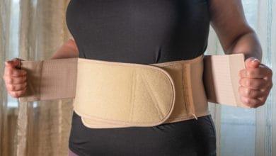 متى ترتدين حزام البطن بعد الولادة القيصرية